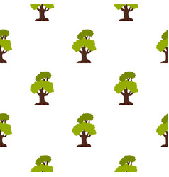 Big tree pattern flat vector