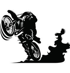 Cartoon motocycle vector