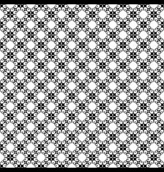 Creative black and white flora pattern background vector
