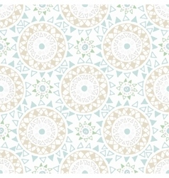 Decorative boho seamless pattern vector