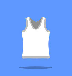 male singlet sketch icon isolated on vector image vector image