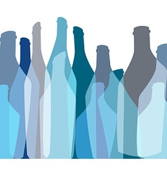 Background bottle abstract vector