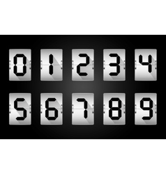 Codes and digits vector