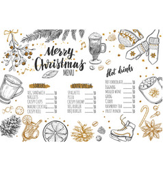 Merry christmas festive 1 vector