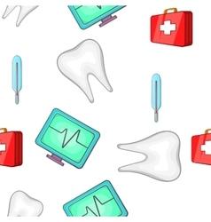 Treatment pattern cartoon style vector