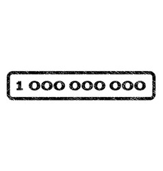 1 000 000 000 watermark stamp vector image vector image