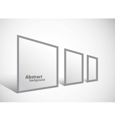 Banner stand vector