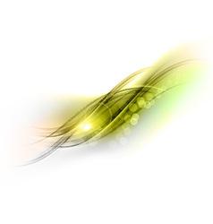 Abstract green grey vector