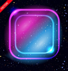 Abstract background with luminous swirling vector