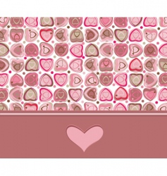 card heart vector image vector image