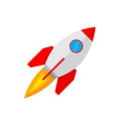 spaceship icon vector image
