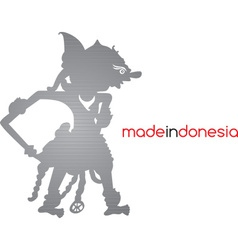 Indonesia silhouette vector