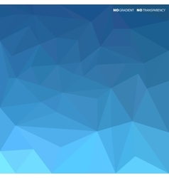 Blue abstract background with geometric shapes vector image vector image