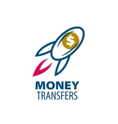 Logo remittances vector