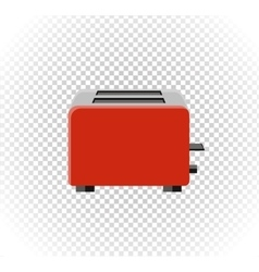 Sale of household appliances toaster vector