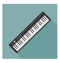 Synthesizer icon vector