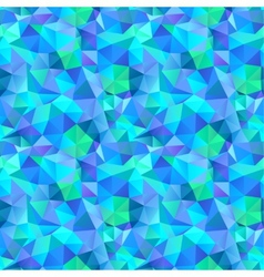 Triangle seamless pattern of geometric shapes vector