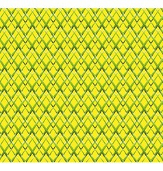 Abstract virtual technology green yellow grid vector