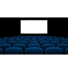 Cinema hall vector