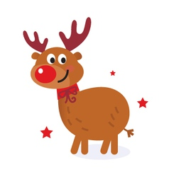 cute christmas cartoon vector image