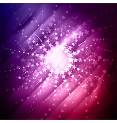 Abstract star burst vector