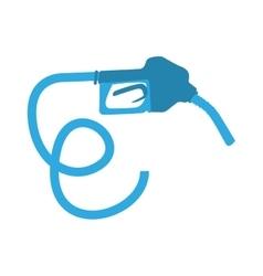 Nozzle gasoline pump vector