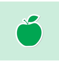 Fruit collection for children design apple vector
