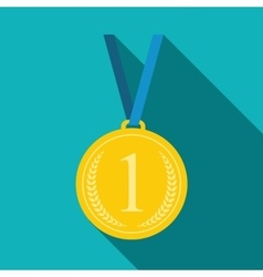 Art flat medal icon for web medal icon app medal vector