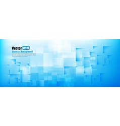 Abstract background light blue with basic geometry vector