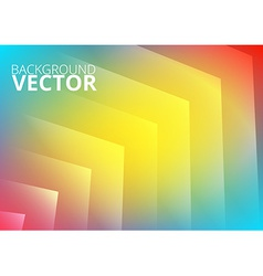 Abstract colored arrows background vector image vector image