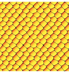 Orange and yellow seamless honeycombs texture vector