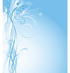 Winter abstract vector