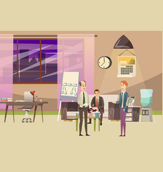 Office orthogonal colored composition vector