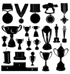 sports reward vector image
