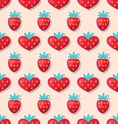 Simple seamless wallpaper with hearts and vector