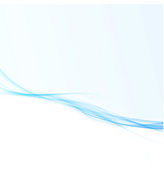 blue wave lines design for business folder vector image vector image