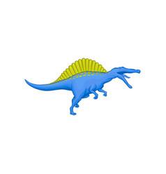 Cartoon character of prehistoric animal - vector