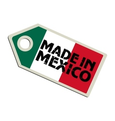 Made in Mexico vector image vector image