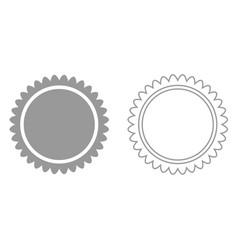 sun it is black icon vector image vector image