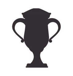 Trophy championship tennis icon vector