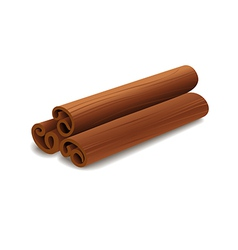 Cinnamon sticks vector