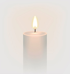 Candlelight Icon vector image vector image