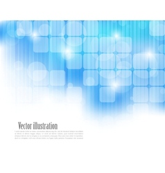 Abstract blue tech background vector image