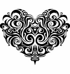 Heart-shape vector