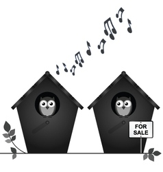 Noisy neighbours vector image