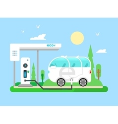 Electric vehicle charging vector