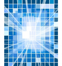 abstract blue decorative background vector image