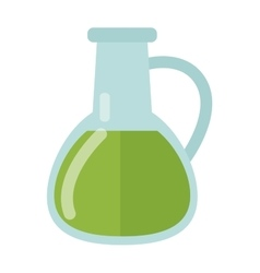 Carafe with liquid vector