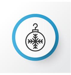 Christmas ball icon symbol premium quality vector