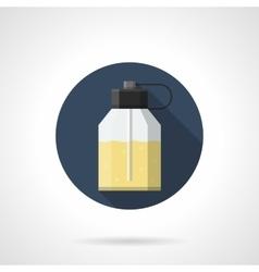 Eau de parfum flat color round icon vector image